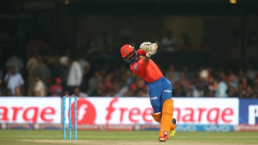 Dinesh Karthik perished trying to loft one over covers