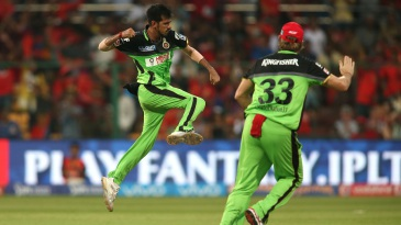 Yuzvendra Chahal took 3 for 19 - his best figures in the IPL
