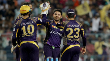 Piyush Chawla bowled an economical spell with two wickets