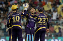Piyush Chawla bowled an economical spell with two wickets, Kolkata Knight Riders v Rising Pune Supergiants, IPL 2016, Kolkata, May 14, 2016