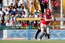 David Miller clips one to the on side, Kings XI Punjab v Sunrisers Hyderabad, IPL 2016, Mohali, May 15, 2016
