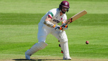 Chris Rogers put on another solid stand with Marcus Trescothick