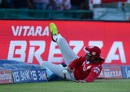Gurkeerat Singh Mann tries to stop a boundary, Kings XI Punjab v Sunrisers Hyderabad, IPL 2016, Mohali, May 15, 2016