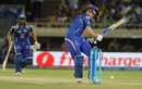 Martin Guptill is struck on the helmet by a bouncer, Mumbai Indians v Delhi Daredevils, IPL 2016, Visakhapatnam, May 15, 2016