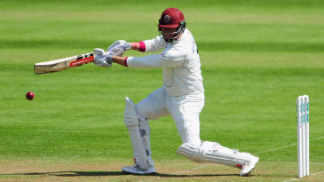 Marcus Trescothick flays through the covers