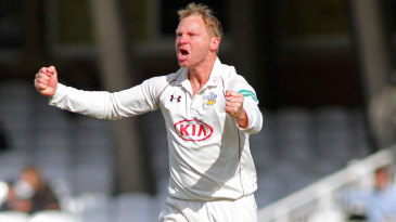 Gareth Batty was in typically combative mood