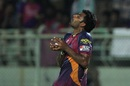 Thisara Perera takes a catch to dismiss Rishabh Pant, Rising Pune Supergiants v Delhi Daredevils, IPL 2016, Visakhapatnam, May 17, 2016