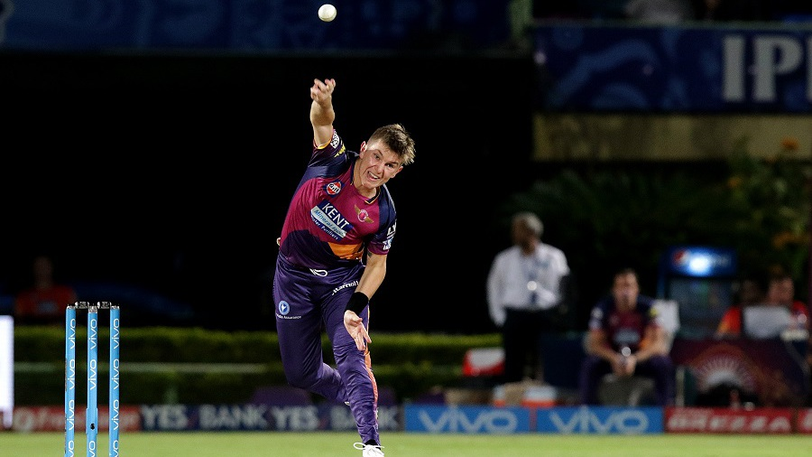Adam Zampa took 3 for 21 in four overs