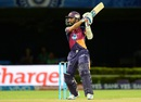 Ajinkya Rahane slaps one through the off side, Rising Pune Supergiants v Delhi Daredevils, IPL 2016, Visakhapatnam, May 17, 2016