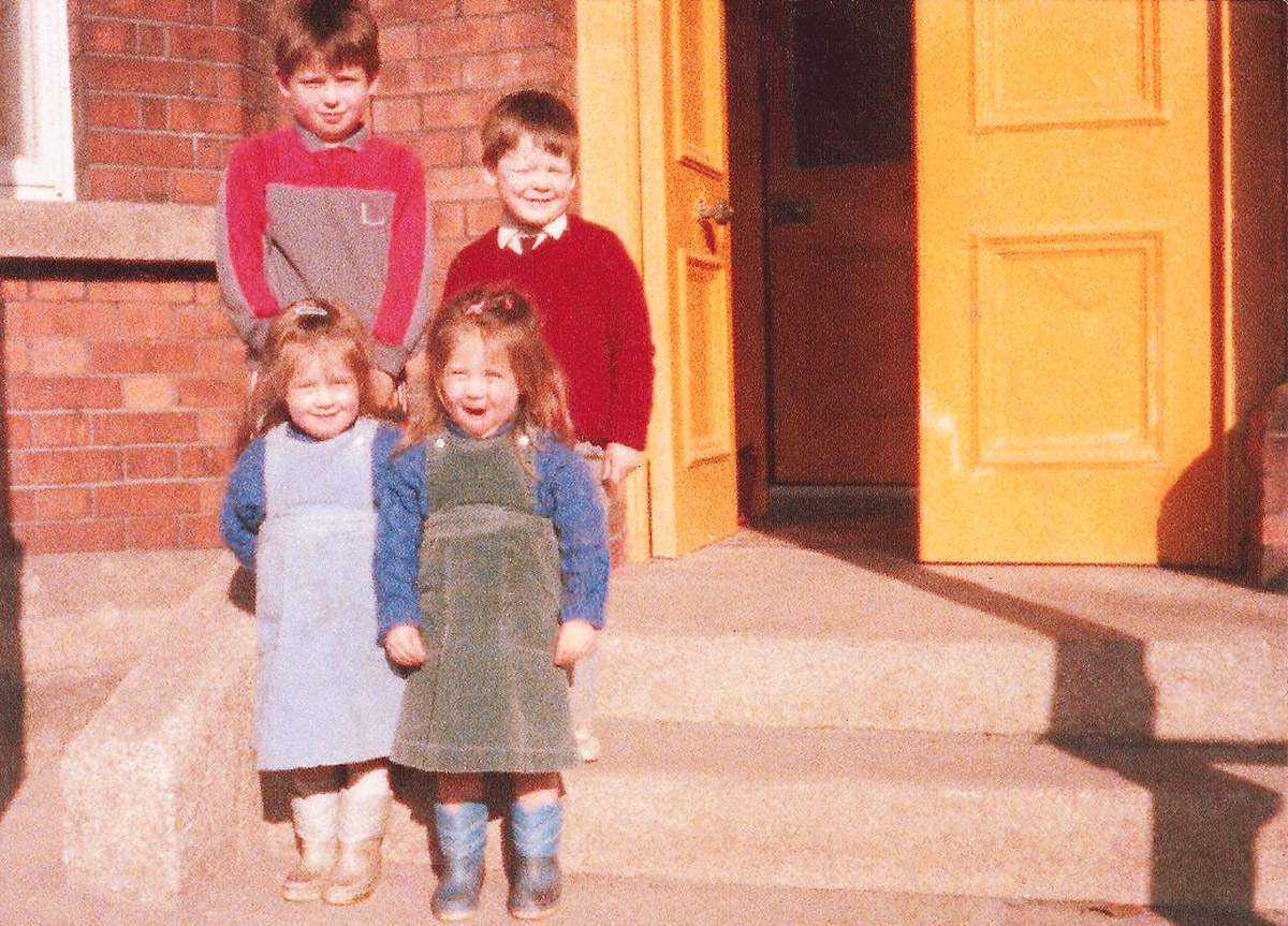 Ed, Dom, Isobel and Cecelia Joyce