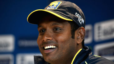 Angelo Mathews looks ahead to the first Test