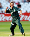 Gareth Clough celebrates a wicket, Nottinghamshire v Yorkshire, Twenty20 Cup, Trent Bridge, June 30, 2006