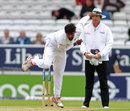 Nuwan Pradeep bowled a testing first spell, England v Sri Lanka, 1st Test, Headingley, 1st day, May 19, 2016