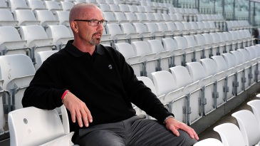 Somerset director of cricket Matthew Maynard during the club's photocall at The County Ground