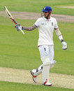 Alex Hales reached his second Test fifty, England v Sri Lanka, 1st Test, Headingley, 1st day, May 19, 2016