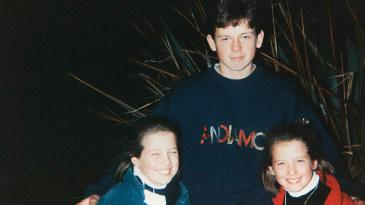 Cecelia, Ed and Isobel Joyce