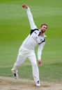 Dawid Malan bowls for Middlesex, Surrey v Middlesex, Specsavers Championship Division One, Kia Oval, May 17, 2016