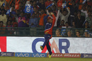 Pawan Negi takes a catch at deep midwicket to get rid of Moises Henriques, Delhi Daredevils v Sunrisers Hyderabad, IPL 2016, Raipur, May 20, 2016