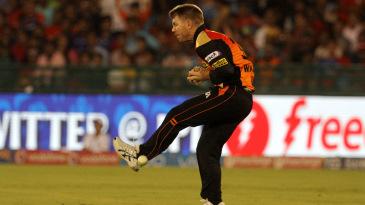 David Warner drops Karun Nair after running in from long-on