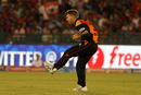 David Warner drops Karun Nair after running in from long-on, Delhi Daredevils v Sunrisers Hyderabad, IPL 2016, Raipur, May 20, 2016