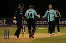 Gareth Batty picked up the key wicket of Tom Westley, Surrey v Essex, NatWest T20 Blast, South Group, Chelmsford, May 20, 2016