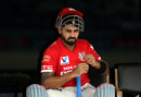 M Vijay waits before the start of the match, Rising Pune Supergiants v Kings XI Punjab, IPL 2016, Visakhapatnam, May 21, 2016