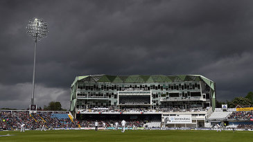 Dark skies over Headingley