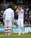 Stuart Broad was aghast at the dropped catch off Kusal Mendis, on 47, England v Sri Lanka, 1st Test, Headingley, 3rd day, May 21, 2016