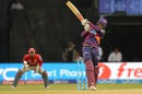 Usman Khawaja launches one over the leg side, Rising Pune Supergiants v Kings XI Punjab, IPL 2016, Visakhapatnam, May 21, 2016