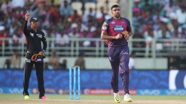 R Ashwin finished with 4 for 34