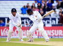 Dinesh Chandimal dragged into his stumps, England v Sri Lanka, 1st Test, Headingley, 3rd day, May 21, 2016