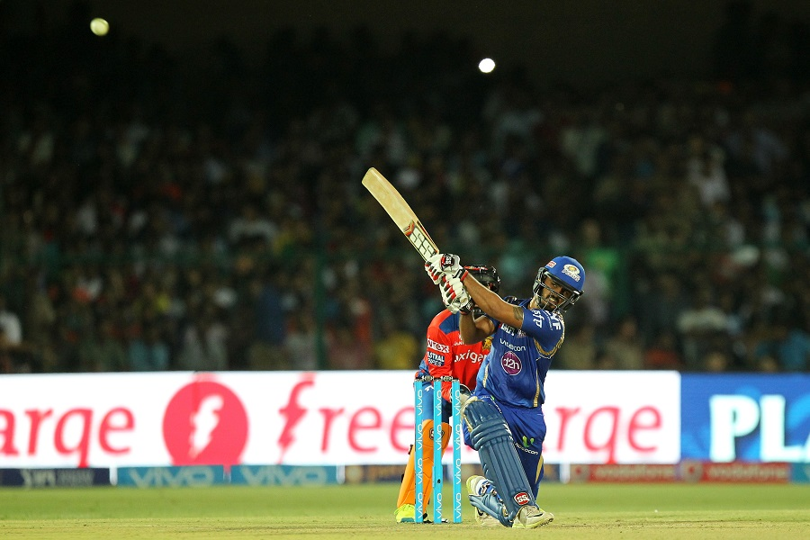 Nitish Rana rose to the occasion and struck his maiden IPL fifty. He added 75 for the fourth wicket with Jos Buttler and scored 70 off 36 balls to put Mumbai back on track