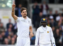 Steven Finn chipped in with three wickets, England v Sri Lanka, 1st Test, Headingley, 3rd day, May 21, 2016