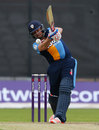 Wes Durston gave Derbyshire's chase a rapid start, Lancashire v Derbyshire, NatWest T20 Blast, North Group, May 21, 2016