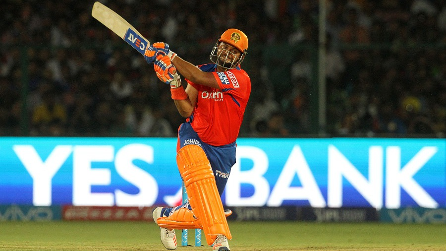 Suresh Raina eyes the leg side