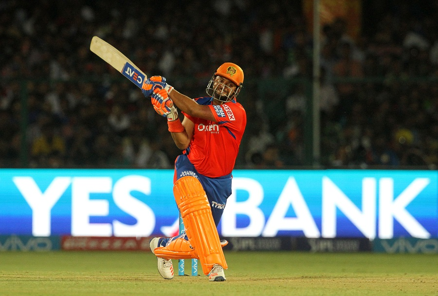 Raina made his chances count. The Lions captain added 96 for the second wicket with McCullum and crunched 58 off 36 balls before perishing with 51 needed off 46