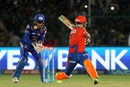 Brendon McCullum is cleaned up by Harbhajan Singh, Gujarat Lions v Mumbai Indians, IPL 2016, Kanpur, May 21, 2016