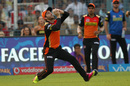 Kane Williamson takes a catch, Kolkata Knight Riders v Sunrisers Hyderabad, IPL 2016, Kolkata, May 22, 2016