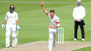 Kyle Jarvis struck four times in his first spell