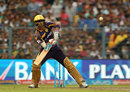 Suryakumar Yadav shapes for a scoop, Kolkata Knight Riders v Sunrisers Hyderabad, IPL 2016, Kolkata, May 22, 2016