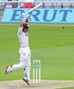 Rory Burns evades a delivery, Lancashire v Surrey, County Championship, Division One, Old Trafford, 1st day, May 22, 2016
