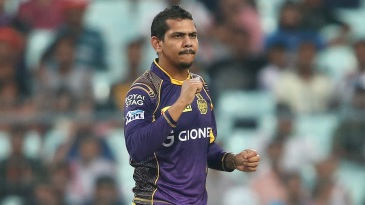 Sunil Narine took 3 for 26 in four overs