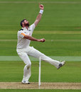Dan Christian in action on his Championship debut for Nottinghamshire, Hampshire v Nottinghamshire, County Championship, Division One, Ageas Bowl, 1st day, May 22, 2016