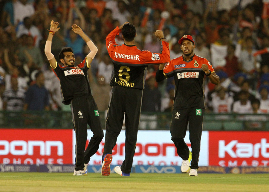 Yuzvendra Chahal dismissed both of them, en route to standout figures of 3 for 32