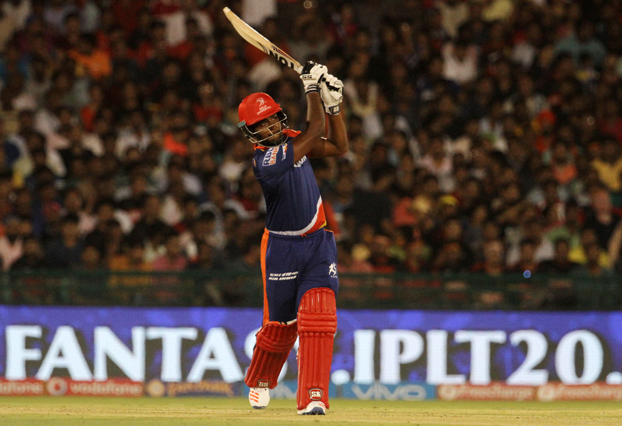 After Rishabh Pant's early dismissal, Karun Nair and Sanju Samson chipped in but could not convert their starts into big scores