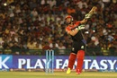 AB de Villiers skews one to cover point, Delhi Daredevils v Royal Challengers Bangalore, IPL 2016, Raipur, May 22, 2016
