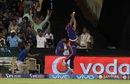 Jayant Yadav drops a catch of Shane Watson, Delhi Daredevils v Royal Challengers Bangalore, IPL 2016, Raipur, May 22, 2016