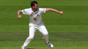 James Weighell claimed his first five-wicket haul