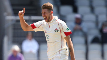 Kyle Jarvis finished with career-best match figures of 11 for 119