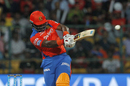 Dwayne Smith plays a meaty pull, Gujarat Lions v Royal Challengers Bangalore, IPL 2016, Qualifier 1, Bangalore, May 24, 2016